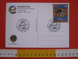 A.07 ITALIA ANNULLO - 2013 MONGRANDO BIELLA ORO MINERALI CAMPIONATO MONDIALE CERCATORI GEOLOGIA MINERALOGIA - Altri