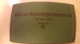 Bilder Aus Neidenburgs Schwerer Zeit 1914 - Nidzica - Polen