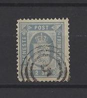 DANEMARK. YT  Timbres De Service  N° 1  Obl  1871 - Service