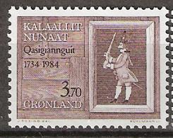 Greenland 1984 250 Years Christianshåb (Qasigiannguit), Mi 152, MNH(**) - Grönland