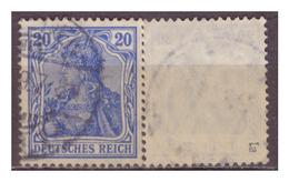 DR: Nr. 87 Ia, Geprüft, Gestempelt - Deutschland
