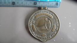 PLAQUE NAIADE DE 1937 CIE Pr LA FABRICATION DES COMPTEURS ET MATERIEL D'USINES A GAZ. 12 MONTROUGE - Monnaies & Billets