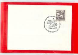 AUSTRIA - LAXENBURG  1974  -  SALTO OSTACOLO - Ippica