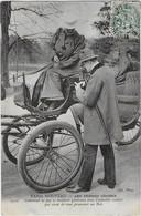 PARIS NOUVEAU : Les Femmes Cocher- Comment Ne Pas Se Montrer Généreux Avec L'aimable Cochère...(1907 ) - Petits Métiers à Paris