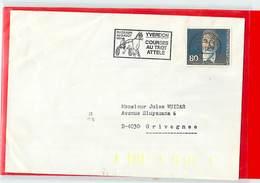SUISSE  -  YVERDON  - 1980  COURSES AU TROT ATTELE' - Ippica