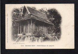 Laos,Tonkin,Cambodge Indochine,Viet Nam,Cochinchine  / Muong Kop / Bibliothèque De Pagode - Laos