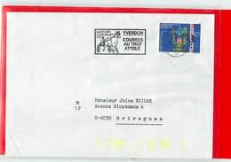 SUISSE  -  YVERDON  - 1981  COURSES AU TROT ATTELE' - Ippica