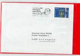 SUISSE  -  TRAMELAN - 1981 - CONCOURS HIPPIQUE NATIONAL - Ippica