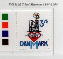 PIA - DANIMARCA -1990 : 150° Della Scuola Popolare Superiore   - (Yv 1094) - Danimarca