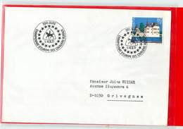 SUISSE  -  2915  BURE  -  CHAMPIONNAT D'EUROPE DES CAVALIERS RURAUX  1977 - Ippica