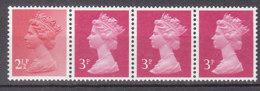 PGL AL254 - GRANDE BRETAGNE Yv N°964b ** MACHINS Roulettes - 1952-.... (Elizabeth II)