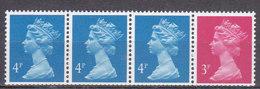 PGL AL256 - GRANDE BRETAGNE Yv N°1420a ** MACHINS Roulettes - 1952-.... (Elizabeth II)