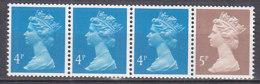 PGL AL257 - GRANDE BRETAGNE Yv N°1326a ** MACHINS Roulettes - 1952-.... (Elizabeth II)