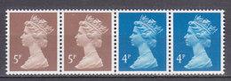 PGL AL258 - GRANDE BRETAGNE Yv N°1326b ** MACHINS Roulettes - 1952-.... (Elizabeth II)