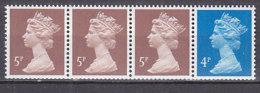 PGL AL259 - GRANDE BRETAGNE Yv N°1326c ** MACHINS Roulettes - 1952-.... (Elizabeth II)