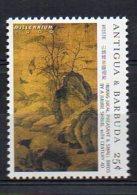ANTIGUA & BARBUDA. MILLENNIUM. ART CHINESE PAINTING 1000 BC-1000 AD. MNH (2R4312) - Otros