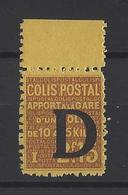 FRANCE. YT  Colis Postaux  N° 130  Neuf *  1938 - Parcel Post