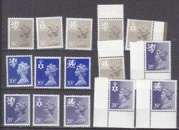 PGL BZ727 - GRANDE BRETAGNE Yv N°1082/90+a ** REGIONALES - 1952-.... (Elizabeth II)