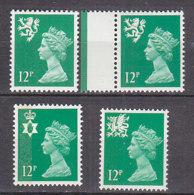 PGL BZ742 - GRANDE BRETAGNE Yv N°1207/09+a ** REGIONALES - 1952-.... (Elizabeth II)