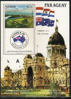 Paraguay,Philatelic Exhibition-AUSIPEX '84 1984.,block,MNH - Paraguay