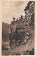 LOÈCHE-LES-BAINS → Passage De La Gemmi, Kupferdruck Anno 1941 - VS Valais