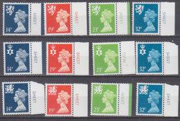 PGL BZ744 - GRANDE BRETAGNE Yv N°1346/57 ** REGIONALES - 1952-.... (Elizabeth II)