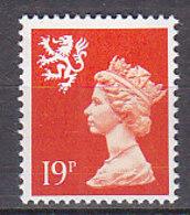 PGL BZ745 - GRANDE BRETAGNE Yv N°1349 ** REGIONALES - 1952-.... (Elizabeth II)