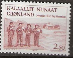 Greenland 1983 250. Jahrestag Der Ankunft Der Herrnhuter Missionare Auf Grönland Mi 146, MNH(**) - Grönland