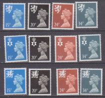 PGL BZ747 - GRANDE BRETAGNE Yv N°1422/33 ** REGIONALES - 1952-.... (Elizabeth II)