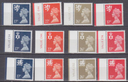 PGL BZ755 - GRANDE BRETAGNE Yv N°1499/510 ** REGIONALES - 1952-.... (Elisabetta II)