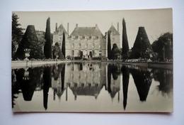 41 -  Carte-photo   PLESSIS-FORTIA - Chateau Vue De Derrière - Altri Comuni