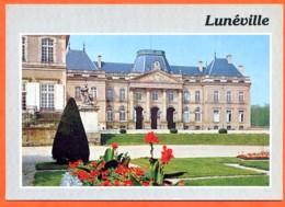54 LUNEVILLE Chateau 18° Siècle Le Parc Carte Vierge TBE - Luneville
