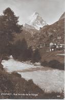 ZERMATT → Aux Bords De La Viège, Sehr Schöne Fotokarte Ca.1930 - VS Valais