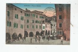 GORIZIA 757 PIAZZA  DUOMO  1917 (CACHET MILITAIRE FRANCAIS ET ITALIEN  AU VERSO ) - Gorizia