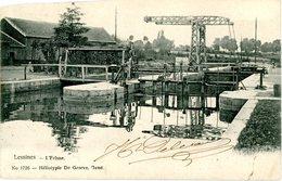 Lessines. L'écluse. Circulé En 1906. Lessen. De Sluis. Verstuurd In 1906. - Lessen