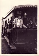 Tramway Touristique De L'Aisne Erezee Dochamps Soye Forge Amonimes Manhay ?? Réunion De 3  Photo Cartes - Erezée