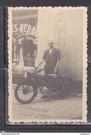 Au Plus Rapide Années 30 Provence Aix En Provence * Devanture Cycles Néral Moto Ancienne - Automobiles