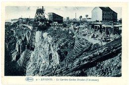 Lessines. La Carrière Cardon-Droulers (l'ascenseur). Lessen. Steengroeve Cardon-Droulers (de Lift). - Lessen