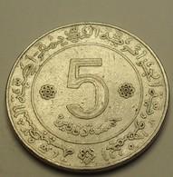 1972 ND - Algérie - Algeria - 5 DINARS, FAO, 10th Anniversary, KM 105a.1 - Algeria