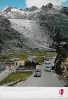 GLETSCH → Viele Oldtimer Oberhalb Gletsch Auf Der Furkastrasse Anno 1967 - VS Valais
