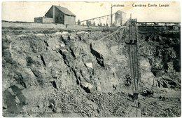 Lessines. Carrières Emile Lenoir. Circulé En 1912. Lessen. Steengroeven Emile Lenoir. Verstuurd In 1912. - Lessen