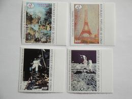 1989 Congo PA 385/8 ** MNH French Revolution Conquête De L'espace Cote 17.00 € Michel 1148/51 Scott C 396/9  SG 1144/7 - Congo - Brazzaville