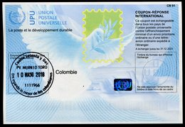 COLOMBIE Coupon Réponse International / International Reply Coupon - Colombie