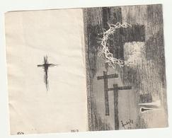 Gaston Charles Clement VAN CROMBRUGGHE Deftinge 1897 Aalst 1969 Priester Gent De Pinte Zingem Haaltert Welden Erpe - Images Religieuses