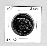 Portugal Piece 5 Euro Commorative 2018 / Aguia Imperial / Cupro-Nikel - [PT - EU.3] - Portugal