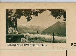 Carte Illustré Neuve N° 182 - 0163 D - HEILIGENSCHWENDI Ob Thun  (Zumstein 2009) - Entiers Postaux