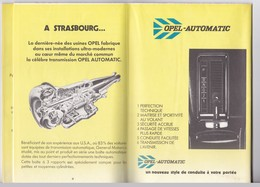 Catalogue - Concessionnaires Officiels General Motors France - 1979 - Voitures