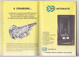 Catalogue - Concessionnaires Officiels General Motors France - 1979 - KFZ