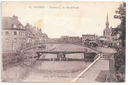 Cpa...St-Omer...faubourg Du Haut-pont...(a Droite ..manèges,foire).. - Saint Omer