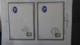 Très Beau Classeur SHEPS De 60 Enveloppes De Noël D'Israël De 1968 à 2002. Villes Différentes. A Saisir  !!! - Timbres